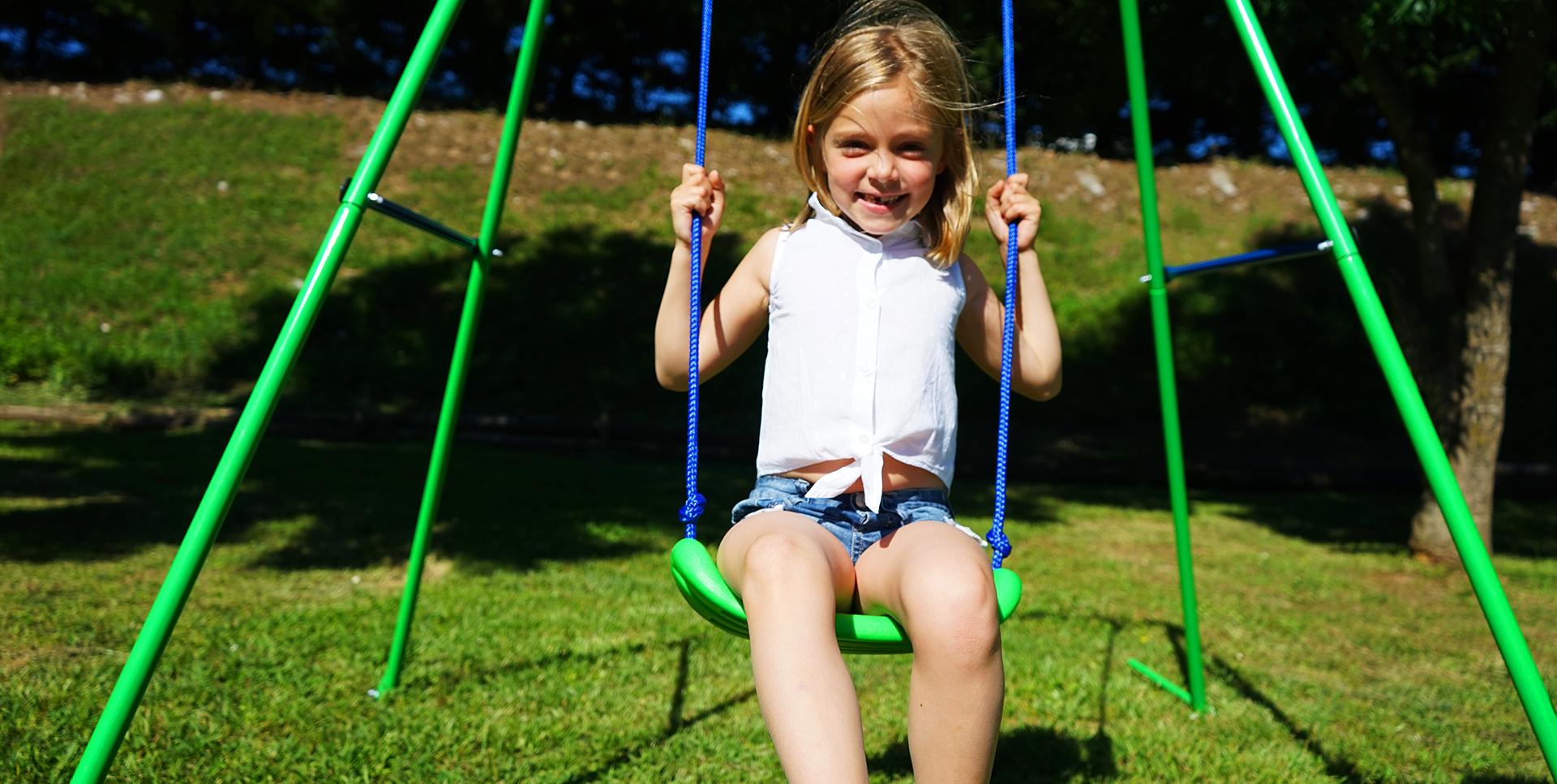 Columpios y toboganes. Tu parque infantil sin salir de casa | Myswingstore